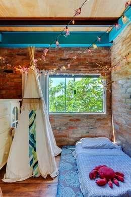 rustic Nursery/kid's room by Ferraro Habitat
