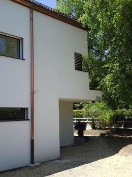Vue de la partie nouvelle: Maisons de style de style Moderne par ELEMENT 9