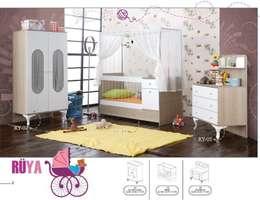 ŞİRİNLER GENÇ ODASI – RÜYA BEBEK ODASI: modern tarz Çocuk Odası