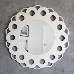 Зеркало SIMPLY FLOWER: Спальная комната  в . Автор – BONESSI