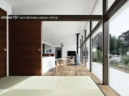 atelier137 ARCHITECTURAL DESIGN OFFICE의  다이닝 룸