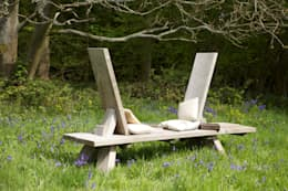 Jardin de style de style Minimaliste par Green Oak Furniture Ltd