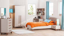 Ev Gör Mobilya Sanayi Tekstil ve Ticaret LTD. ŞTİ. – En Şık Erkek Çocuk Odaları: iskandinav tarz tarz Çocuk Odası