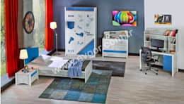 Ev Gör Mobilya Sanayi Tekstil ve Ticaret LTD. ŞTİ. – En Şık Erkek Çocuk Odaları: eklektik tarz tarz Çocuk Odası
