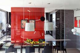 mediterranean Dining room by PDV studio di progettazione
