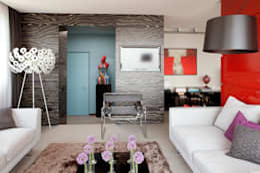mediterranean Corridor, hallway & stairs تنفيذ PDV studio di progettazione