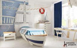 minimalistic Nursery/kid's room by Samarina projects