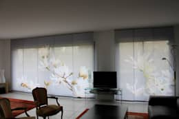 Projekty,  Okna zaprojektowane przez Arielle D Collection Maison