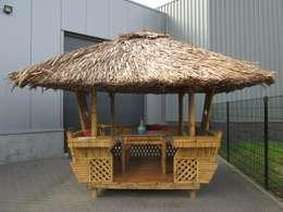 Overzichtsfoto's Decoratietuin Someren: tropische Spa door HO-Jeuken