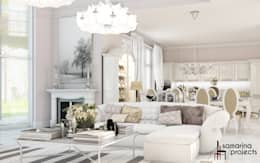 classic Living room by Samarina projects