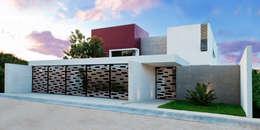 Casas de estilo moderno por TAFF