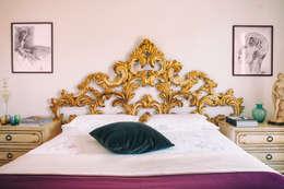Спальни в . Автор – Bianca Coggi Architetto