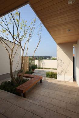 Projekty,  Ogród zaprojektowane przez TAMAI ATELIER