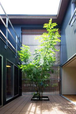 アトリエ イデ 一級建築士事務所의  정원