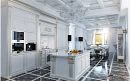 classic Kitchen by Samarina projects