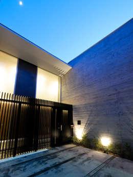 Casas de estilo moderno por 株式会社ラウンドテーブル|一級建築士事務所