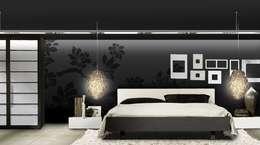 Dormitorios de estilo moderno por Murales Divinos