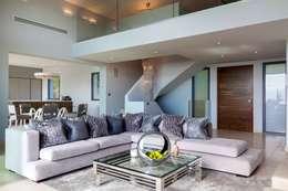Salas de estar modernas por Urban Cape Interiors