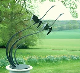 Paul Margetts: modern tarz Bahçe