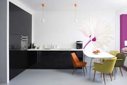 modern Kitchen by Murales Divinos