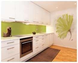 Cocinas de estilo moderno por Murales Divinos