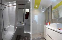 Appartement 2 pièces 42m2:  de style  par Createurs d'interieur Aix-en-Provence