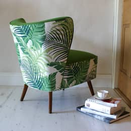 1950s Jungle Kin Chair: colonial Bedroom by DUNCOMBE OXLEYS