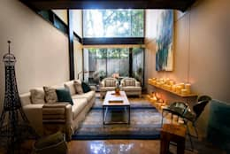 Salon de style de style Moderne par Concepto Taller de Arquitectura