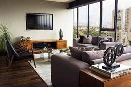 غرفة المعيشة تنفيذ Concepto Taller de Arquitectura