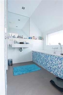 mozaïek in de badkamer, kies voor kleur