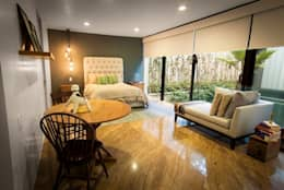 Dormitorios de estilo moderno de Concepto Taller de Arquitectura