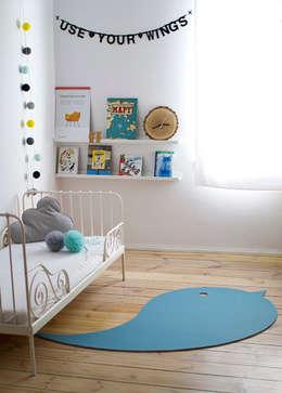 Dormitorios infantiles  de estilo  por LUMIO
