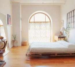 country Bedroom by MR Pallets en Kisten