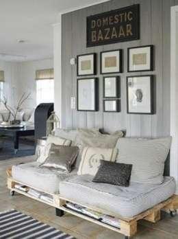 country Living room by MR Pallets en Kisten