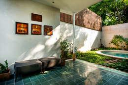 Terrace by Taller Estilo Arquitectura