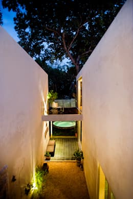 Casas de estilo moderno por Taller Estilo Arquitectura
