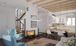 Livings de estilo escandinavo por room4life