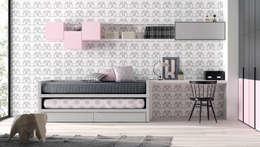 Dormitorios de estilo moderno por Basoa Decoración