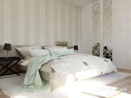 BROADWAY: styl , w kategorii Sypialnia zaprojektowany przez EVOLUXURY DESIGN