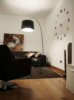 Гостиная в . Автор – Intra Arquitectos