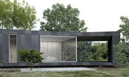 Casas de estilo minimalista por Artspazios, arquitectos e designers