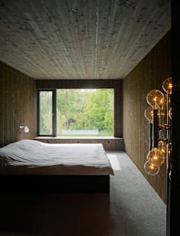 Projekty,  Sypialnia zaprojektowane przez :mlzd