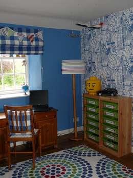 Projekty,  Pokój dziecięcy zaprojektowane przez Natalie Davies Interior Design