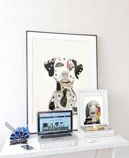 Dalmatian Poster: moderne Arbeitszimmer von JUNIQE