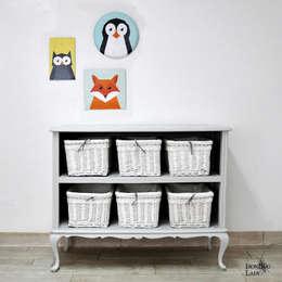 Projekty,  Pokój dziecięcy zaprojektowane przez IronBug Lady