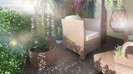 Rewolucja na balkonie : styl , w kategorii  zaprojektowany przez D2 Studio