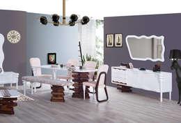Trabcelona Design – Leo Messi -10: akdeniz tarzı tarz Yemek Odası