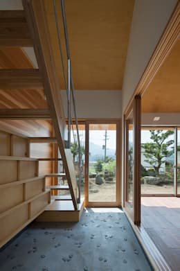 走廊 & 玄關 by 建築デザイン工房kocochi空間