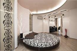 """Дизайн квартиры """"Интерьер для молодой семьи"""": Спальни в . Автор – Samarina projects"""