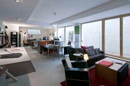 w. raum Architektur + Innenarchitektur의  서재 & 사무실